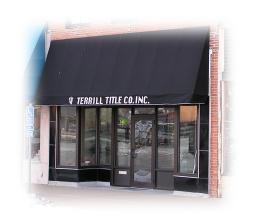 Photo of Terrill Title building.